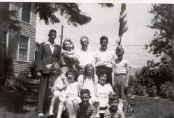 Mother & Dad and All Ten of Us - Cardinal Avenue  1943